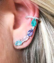 Ear cuff Mari 4 cores RODIO piercing