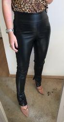 Legging couro ecológico  preta