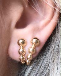 Ear Hook duplo (não precisa ter 2º Furo) vem o par
