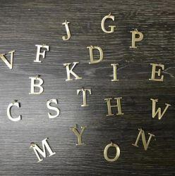 Pingente letra tam P (2cm)